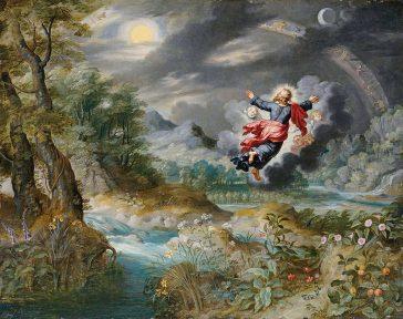 Jan Brueghel cel Tânăr, Dumnezeu creând