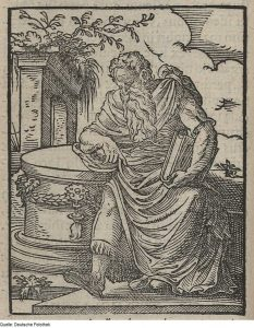 The philosopher in the book of estates from 1568