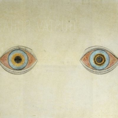 My eyes at the moment of the apparitions by August Natterer,