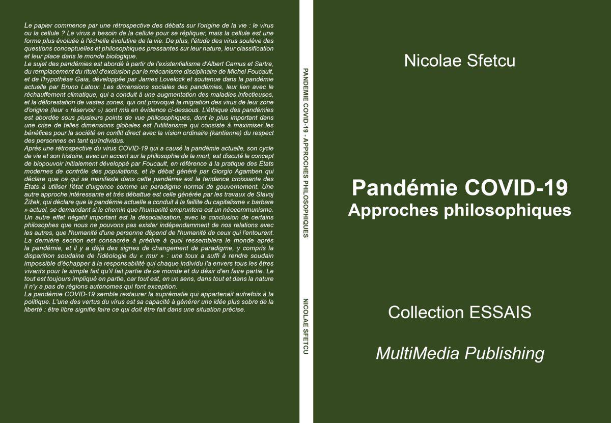 Pandémie COVID-19 - Approches philosophiques