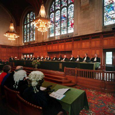 Judecătorii Curții Internaționale de Justiție de la Haga
