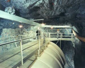 Rezervorul subteran al experimentului Homestake