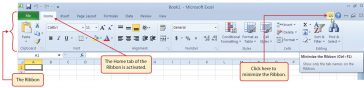 Banda Excel (Ribbon)