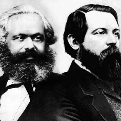 Karl Marx și Friedrich Engels