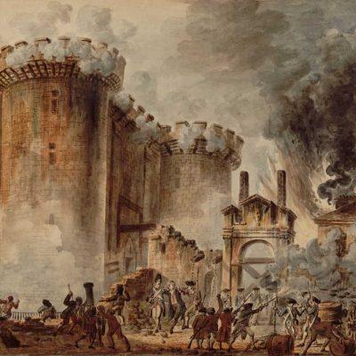 Furtuna Bastiliei, 14 iulie 1789 în timpul Revoluției Franceze