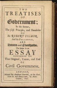 John Locke, Two Treatises of Government
