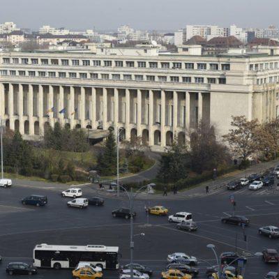 Palatul Victoria, sediul Guvernului României din 1990.