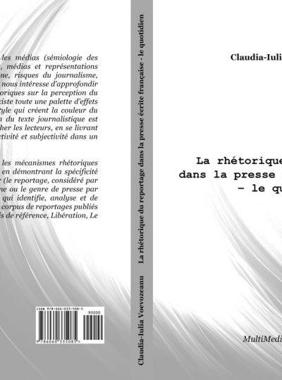 La rhétorique du reportage dans la presse écrite française – le quotidien