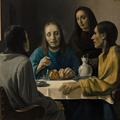 Han van Meegeren: The men at Emmaus