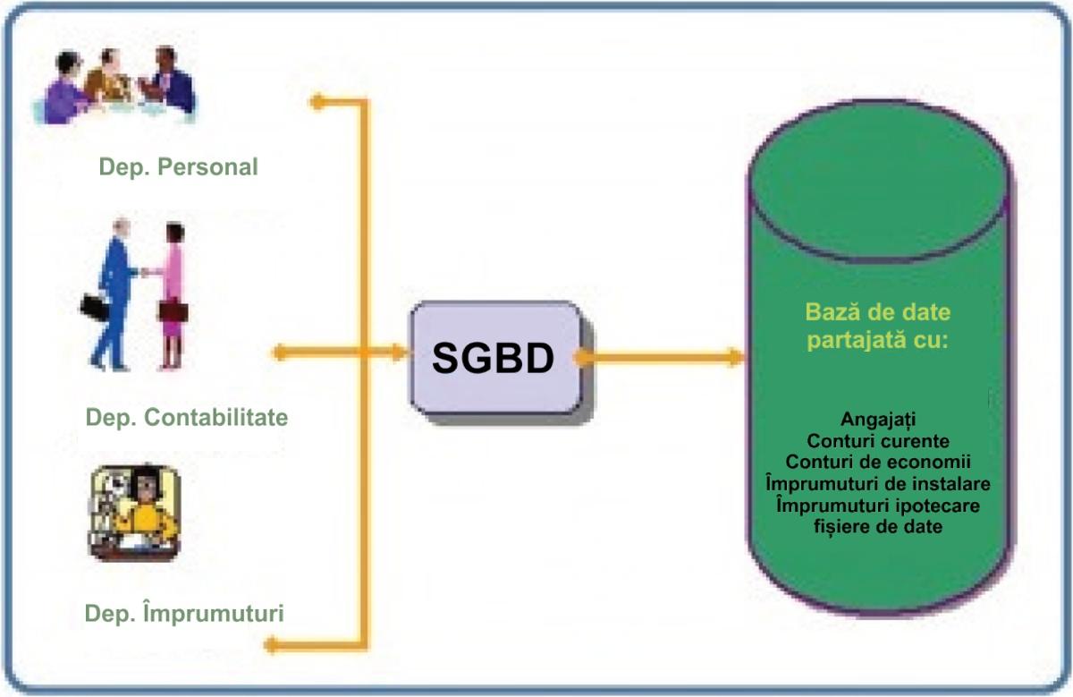 Sistem de gestionare a bazelor de date bancare (SGBD)