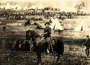 Generalul Grant la City Point