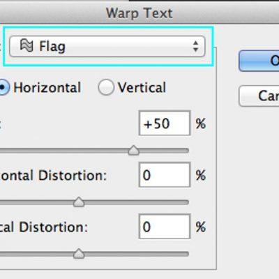 Deformarea textului în Adobe Photoshop