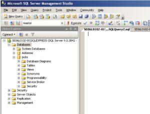 Database Design - Microsoft SQL Server