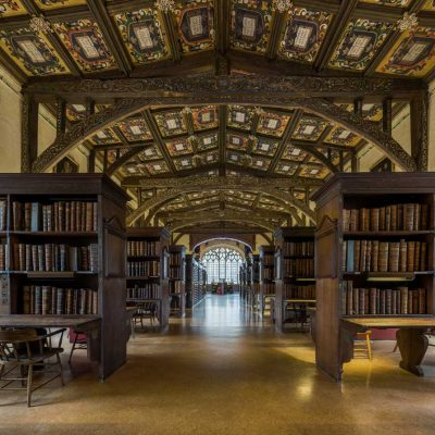 Duke Humfrey's Library, Oxford, England.