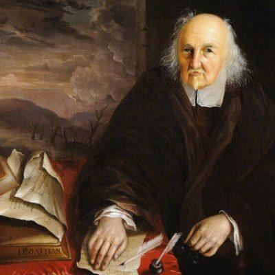 Wright, John Michael; Thomas Hobbes (1588-1679), Aged 89; National Trust, Hardwick Hall;