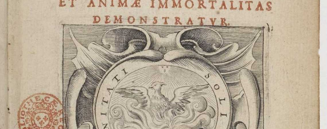 Meditații metafizice (Meditationes de Prima Philosophia, in qua Dei existentia et animæ immortalitas demonstratur), de René Descartes (1641)